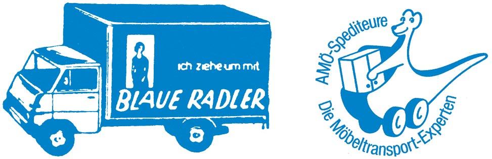 Logo der Firma BLAUE RADLER Transport GmbH aus Frankfurt am Main
