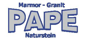 Logo der Firma Pape Naturstein aus Goslar