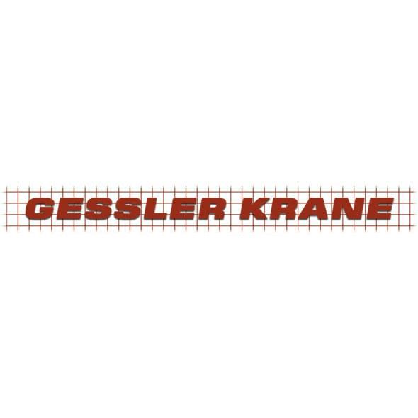 Logo der Firma Gessler Kran-Montage GmbH & Co. KG aus Braunschweig