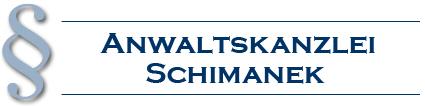 Logo der Firma Anwaltskanzlei Schimanek aus Karlsruhe