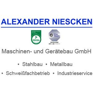 Logo der Firma Alexander Niescken Maschinen- und Gerätebau GmbH aus Langenhagen