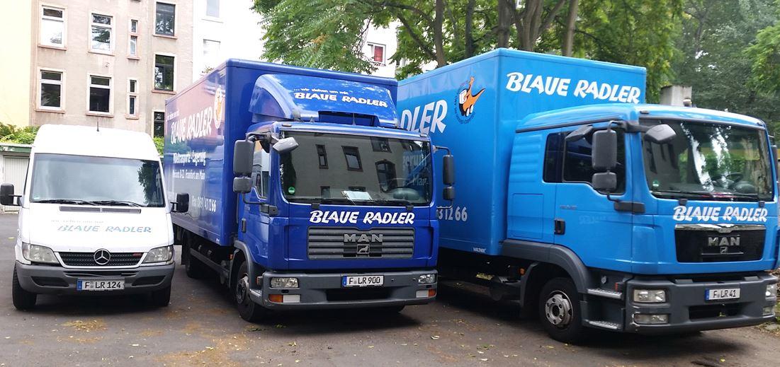 Impression von BLAUE RADLER Transport GmbH in Frankfurt am Main